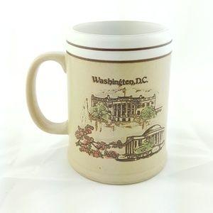 Vtg State Mug Washington D.C. Collectable